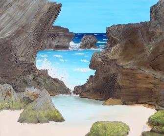 ''Horseshoe Cove'' 36''x30''