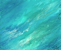 ''Caribbean Sea'' 36x30