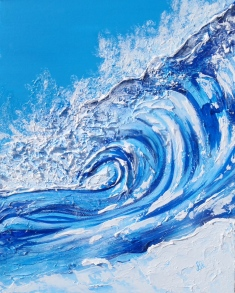 ''Winter Wave'' 16x20