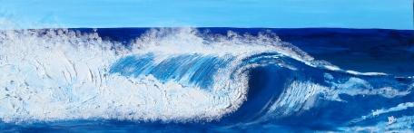 ''Matt's Wave'' 40x16