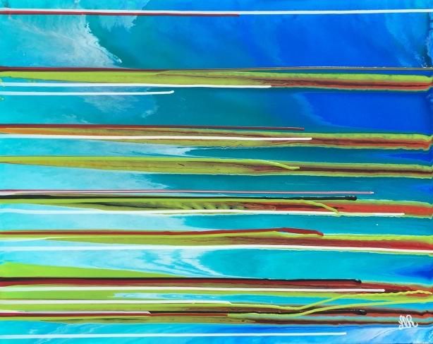Lucky Stripes 30x24
