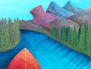 ''Bow River'' 48''x36''