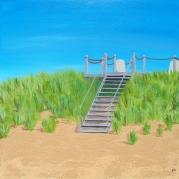 ''Sandy Beach'' 24x24