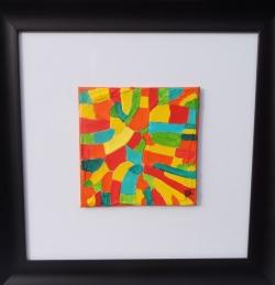 ''Warm'' 4''x4'' framed